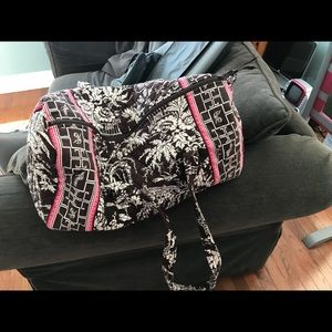 Vera Bradley duffel bag (discontinued pattern)